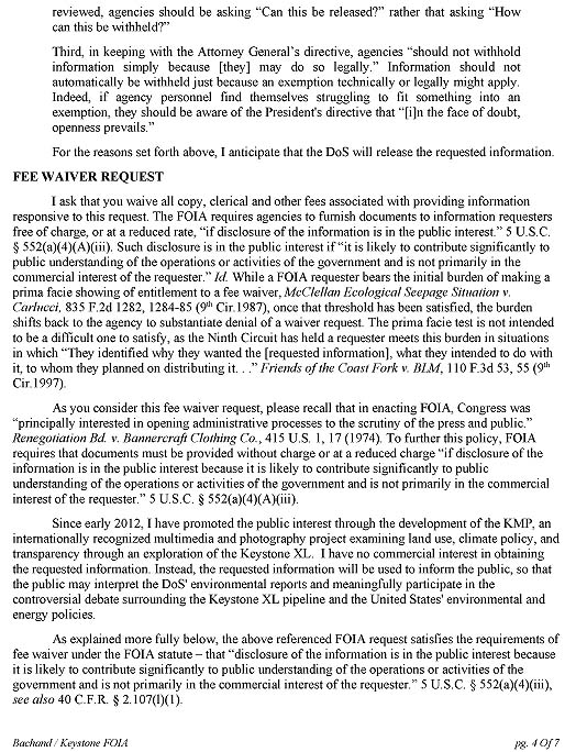 Department of State FOIA Request F~2014-16267, page 4