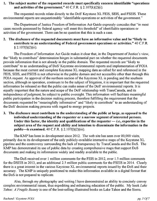 Department of State FOIA Request F~2014-16267, page 5