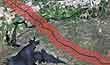 Two-mile wide Voluntary Evacuation Zone.  Milepost 94, Montana.